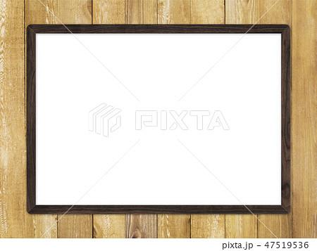 背景-壁-板-木目-茶-フレーム 47519536