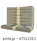 紙幣 お札 札のイラスト 47521321