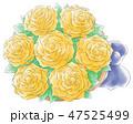 バラのミニ花束・快活系 47525499