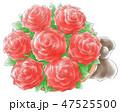 バラのミニ花束・情熱系 47525500
