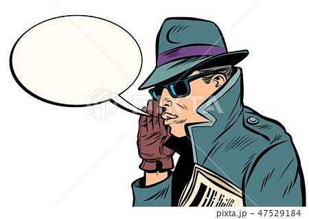spy secret agent whisper 47529184