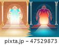 ベクトル 天国 天堂のイラスト 47529873