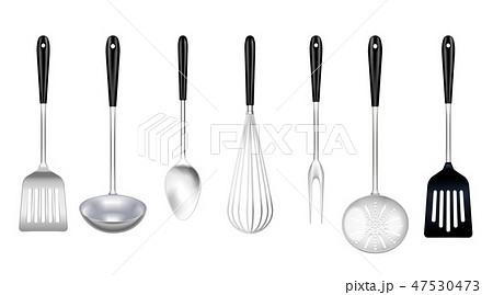 Cooking Tools Realistic Set 47530473