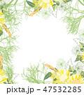 フラワー 花 背景のイラスト 47532285