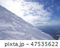 風景 山 大山の写真 47535622