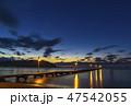 千葉県 原岡海岸の夕景 47542055