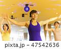 エアロビクス、エアロビ、体操、ダンス、踊り、スポーツジム、フィットネスジム 47542636
