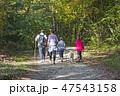 ウォーキング 歩く 歩行の写真 47543158