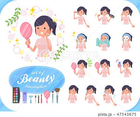 flat type chiropractor women_beauty 47543675