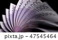 ユーロ お金 通貨のイラスト 47545464