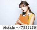 人物 ポートレート 女性の写真 47552159
