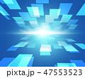 テクノロジー ネットワーク デジタルのイラスト 47553523