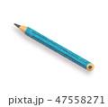 鉛筆 ブルー 47558271