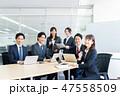 ビジネス ビジネスマン ビジネスウーマンの写真 47558509