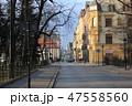 早朝のクラクフの街並み(クラクフ・ポーランド) 47558560