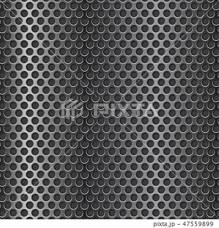 Metal Perforated 3d Textureのイラスト素材 47559899 Pixta