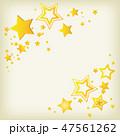 星 スター 背景のイラスト 47561262