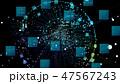 サイバー テクノロジー デジタルのイラスト 47567243