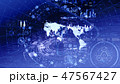 グローバル ハイテク テクノロジーのイラスト 47567427