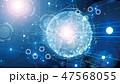 デジタル ハイテク テクノロジーのイラスト 47568055