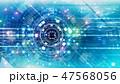 デジタル グラフィックアート 47568056