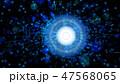 背景 サイバー デジタルのイラスト 47568065