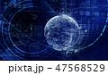 デジタル ビッグデータ ハイテクのイラスト 47568529