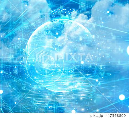 デジタル グラフィックアート 47568800