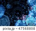デジタル ハイテク テクノロジーのイラスト 47568808