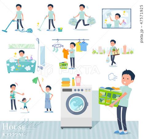 flat type chiropractor men_housekeeping 47571925