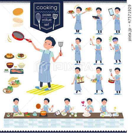 flat type chiropractor men_cooking 47571929