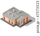Cottage Isometric Vector 47573523