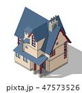 Cottage Isometric Vector 47573526