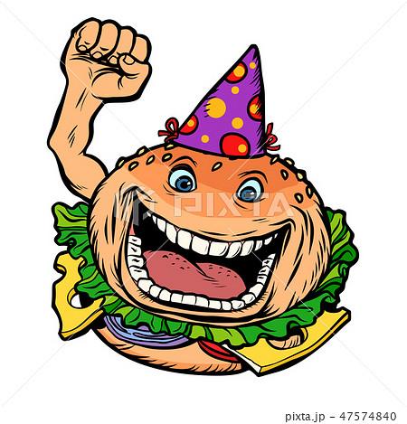 birthday fast food Burger 47574840