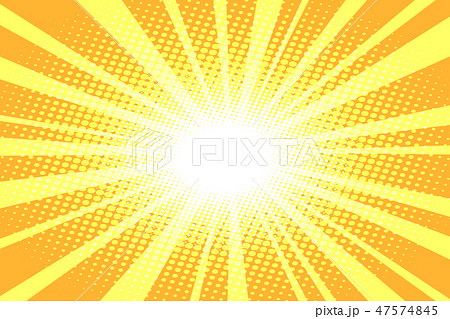 pop art yellow background 47574845