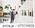 新婦 花嫁 ウェディングの写真 47574958