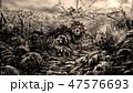 ゾンビ 朽ちる 腐敗のイラスト 47576693