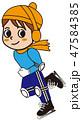 アイススケート 47584385