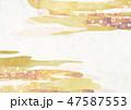 桜 雲 和柄のイラスト 47587553