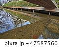 ニヶ領用水宿河原線、冬の情景 47587560