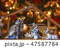 Christmas nativity scene Jesus Christ 47587784