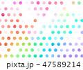 模様 柄 パターンのイラスト 47589214