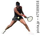 女子テニス 47589858