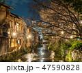 京都 祇園 祇園白川の写真 47590828