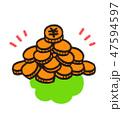 硬貨 47594597
