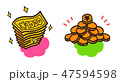 紙幣と硬貨 47594598