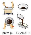 お菓子作り1 47594898