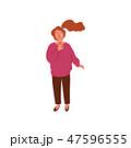 女 女の人 女性のイラスト 47596555