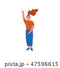 女 女の人 女性のイラスト 47596615