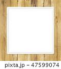 壁 フレーム 額縁のイラスト 47599074